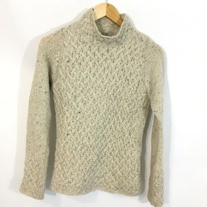 Aran Sweater Market Wool & Cashmere Cable Knit